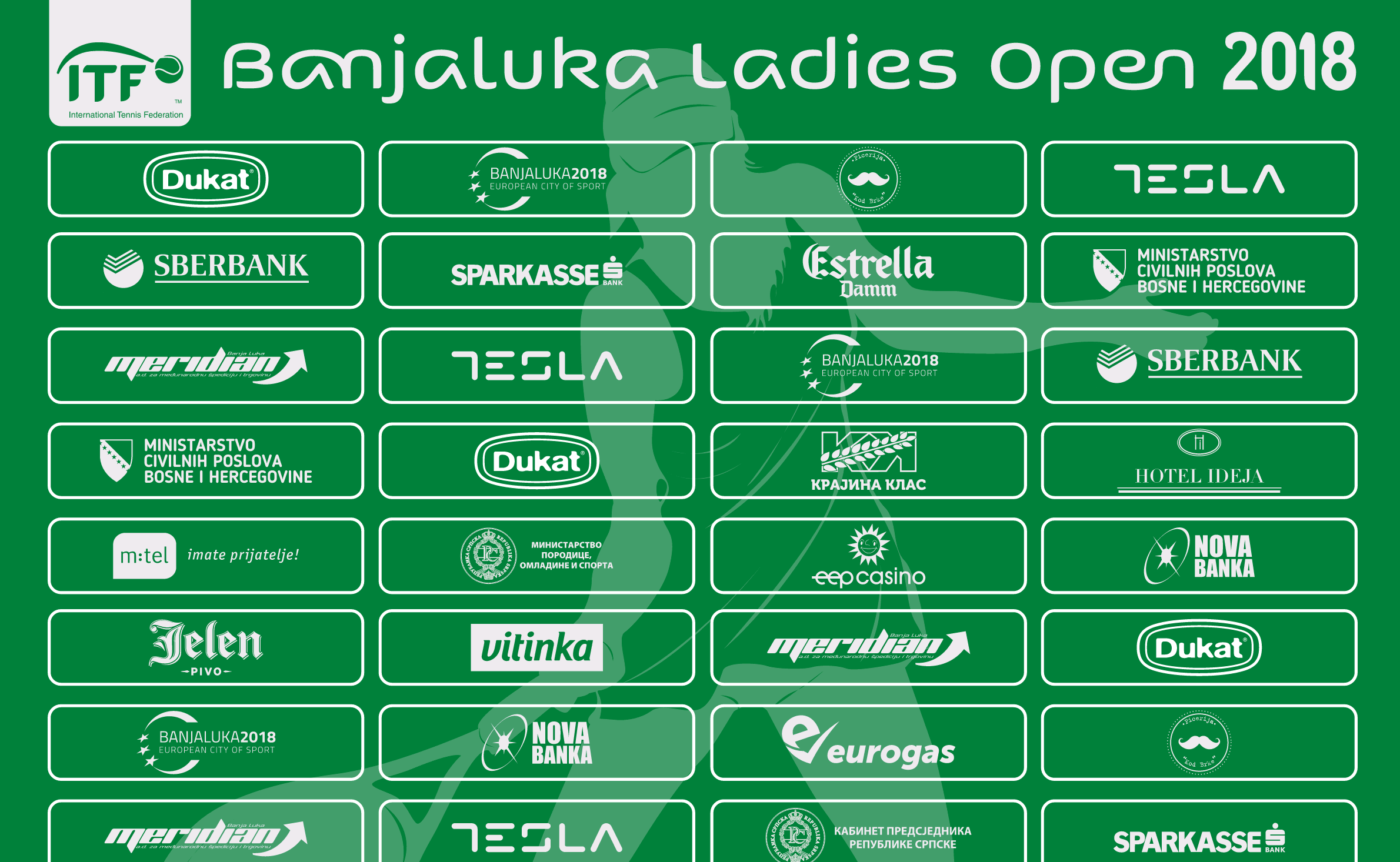 Banjaluka ladies Open 2018 - Mečevi uživo/live streaming